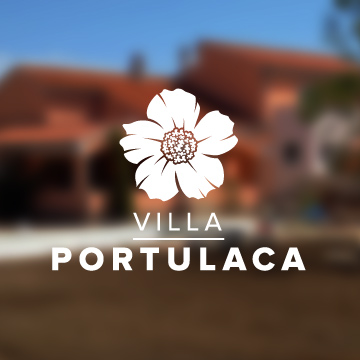 logo design villa tourism vacation summer seaside