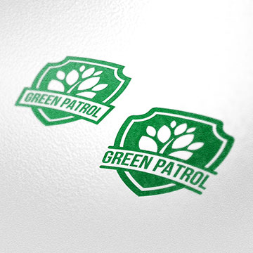 green patrol eco ecology biology environment design logo design illustration drawing sketch illustrator photoshop vector