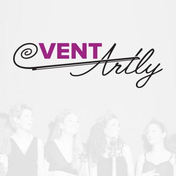ventartly event logo design eventorganizers drawing sketch illustrator photoshop vector